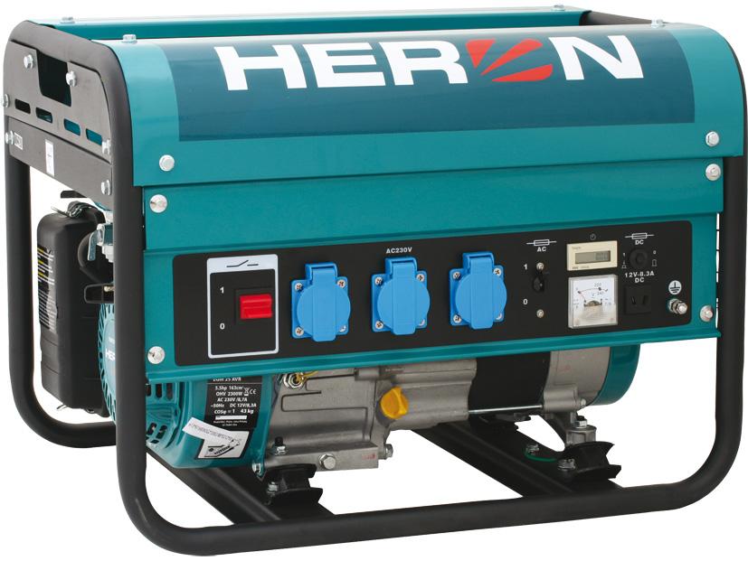 HERON EGM-25 AVR benzinmotoros �ramfejleszt�, aggreg�tor